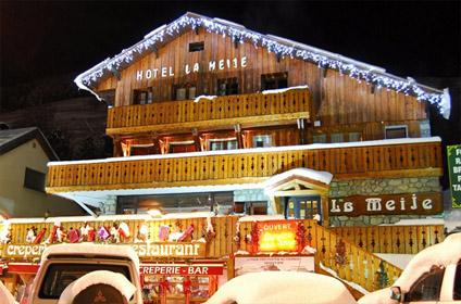 Hotel montagne pour randonnée Isere